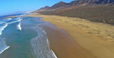 Playa El Cofete en Pájara