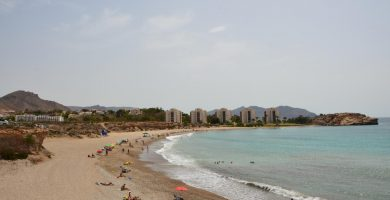 Playa El Corral en Cartagena