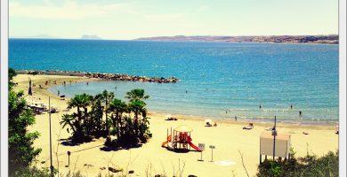 Playa El Cristo en Estepona