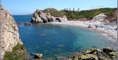 Playa El Cuerno en Castrillón