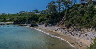 Playa El Dique en Gozón