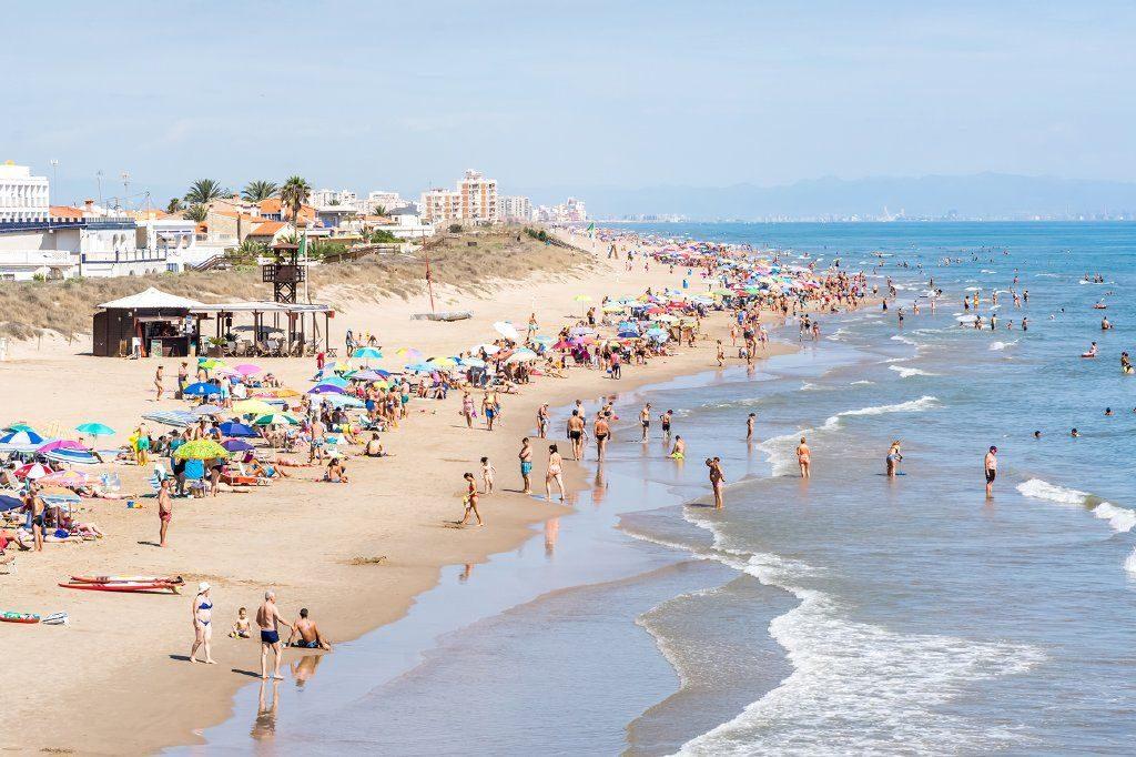Playa El Dosel en Cullera