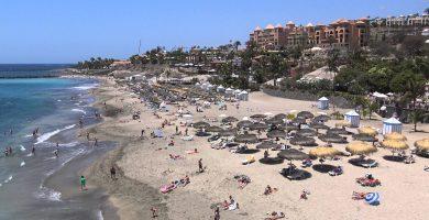 Playa El Duque en Adeje