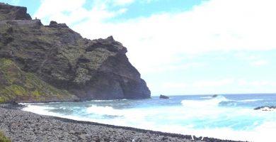 Playa El Fraile en Buenavista del Norte