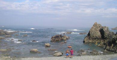 Playa El Garruncho en Muros de Nalón