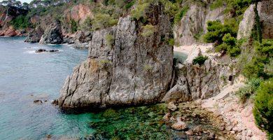 Playa El Golfet en Palafrugell