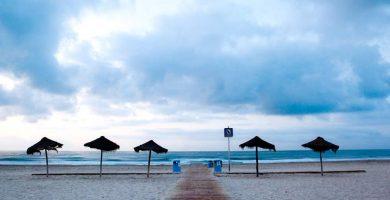 Playa El Gurugú en Castellón de la Plana