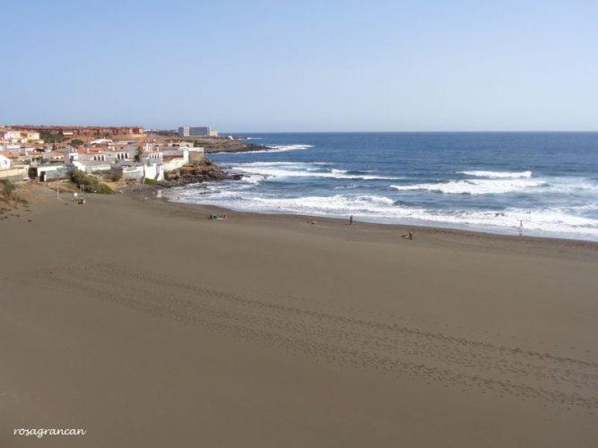 Playa El Hombre en Telde