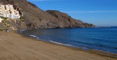 Playa El Hornillo en Águilas