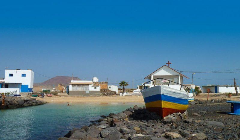 Playa El Jablito en La Oliva