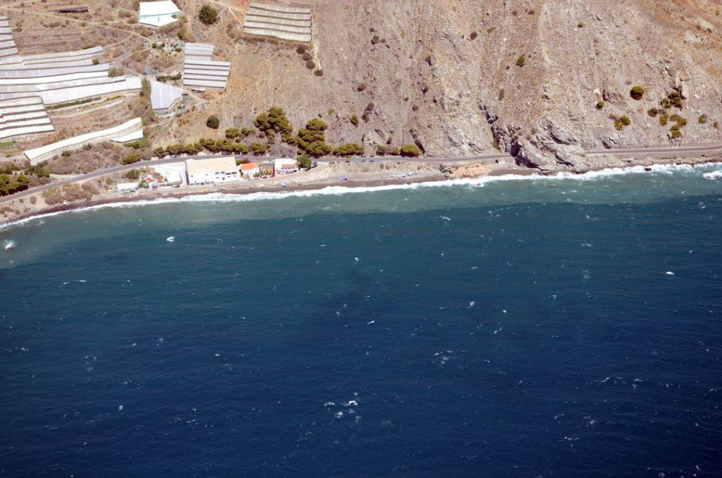 Playa El Lance en Rubite