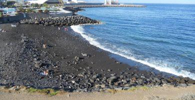 Playa El Llano en Santa Cruz de Tenerife