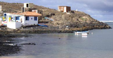 Playa El Majanicho en La Oliva