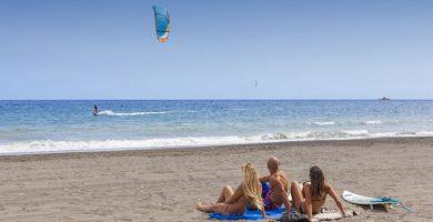 Playa El Médano en Granadilla de Abona