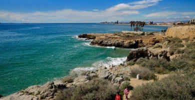 Playa El Milagro en Tarragona