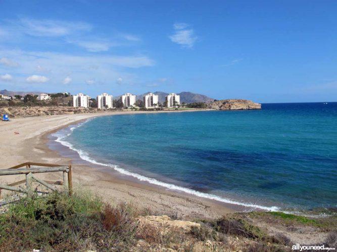 Playa El Mojón en San Pedro del Pinatar