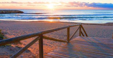 Playa El Moncayo en Guardamar del Segura
