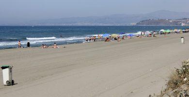 Playa El Morche en Torrox