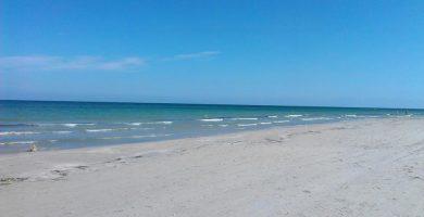 Playa El Morer en Sant Pol de Mar