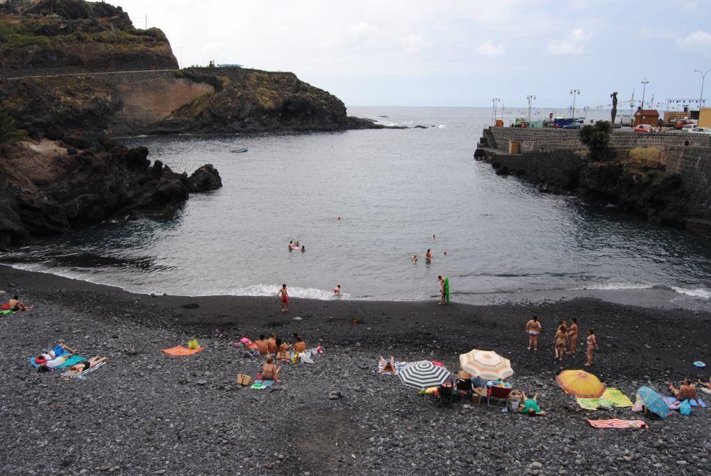 Playa El Muelle en Puerto de la Cruz
