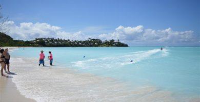 Playa El Muellito en Antigua