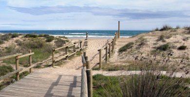 Playa El Muntanyans en Torredembarra