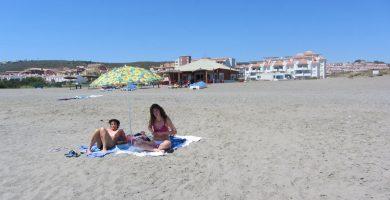 Playa El Negro en Manilva