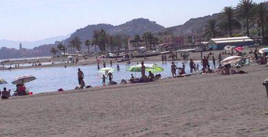 Playa El Palo en Málaga
