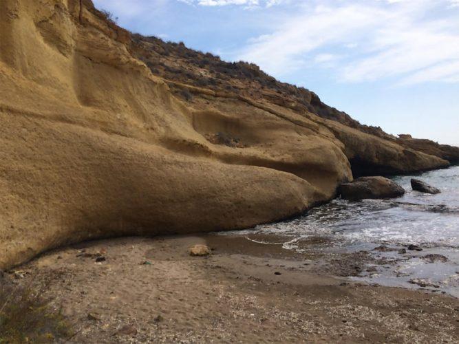 Playa El Palomarico en Mazarrón