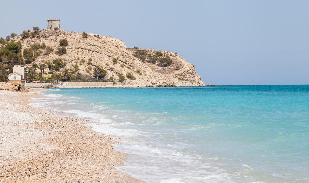 Playa El Parais en Villajoyosa