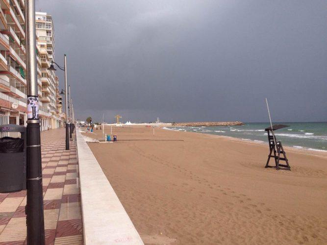 Playa El Perelló en Sueca