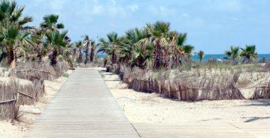 Playa El Pinar en Castellón de la Plana