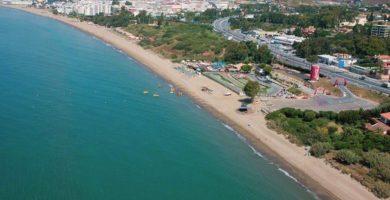 Playa El Pinillo en Marbella