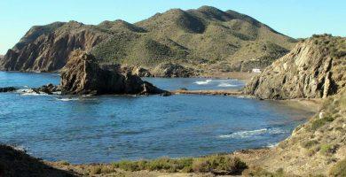 Playa El Pino en Águilas