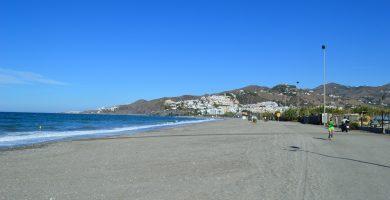 Playa El Playazo en Vera