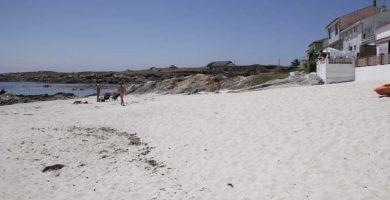 Playa El Prado en Ribeira