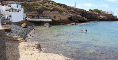 Playa El Puertito en Puerto del Rosario