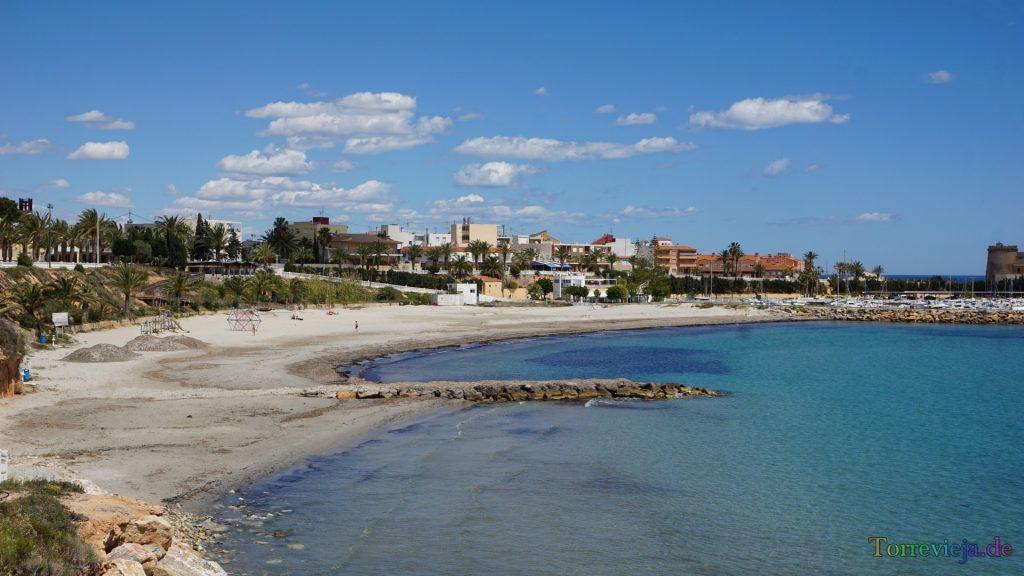 Playa El Puerto en Pilar de la Horadada