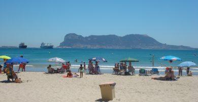 Playa El Rinconcillo en Algeciras