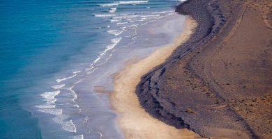 Playa El Risco en Haría