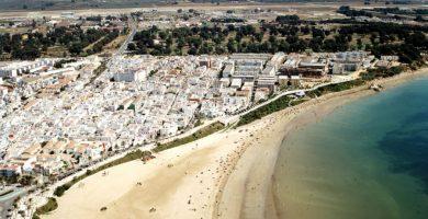 Playa El Rompidillo en Rota
