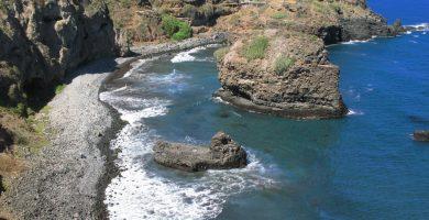 Playa El Roque en Moya