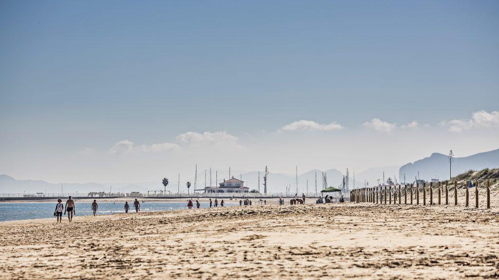 Playa El Rosadero en La Oliva