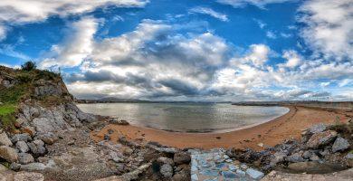 Playa El Rostro en Marina de Cudeyo