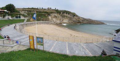 Playa El Sablón en Llanes