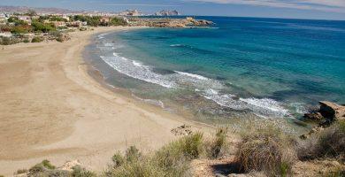 Playa El Saladar en Águilas