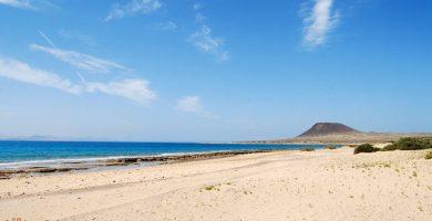 Playa El Salado en Teguise