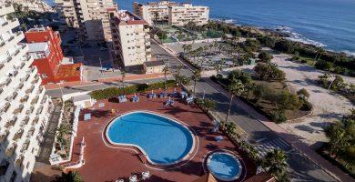 Playa El Salaret en Torrevieja