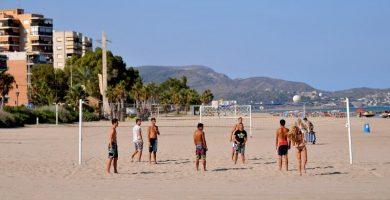 Playa El Serradal en Castellón de la Plana