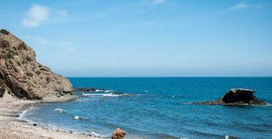Playa El Sombrerico en Mojácar